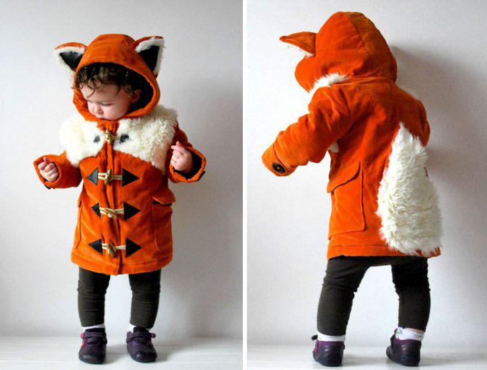 Abrigo en forma de zorrito