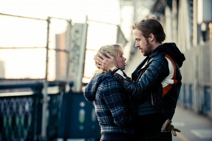 Scene from the movie Blue Valentine