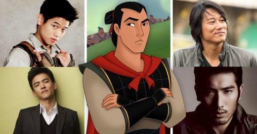 8 Actores super guapísimos que podrían interpretar a Shang en la próxima película de Mulán