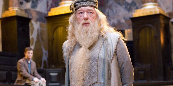 Albus Dumbledore en Harry Potter