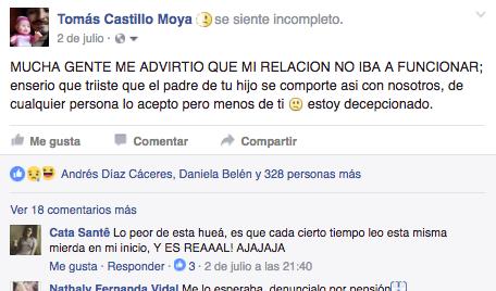 Tomás Castillo Moya publicación