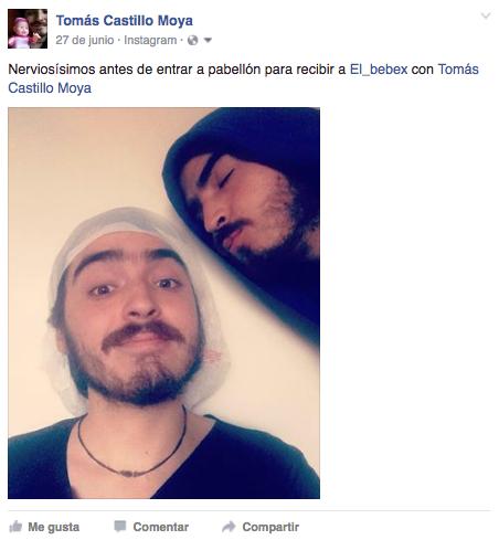 Tomás Castillo Moya en el parto