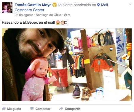 Tomás Castillo Moya en el mall