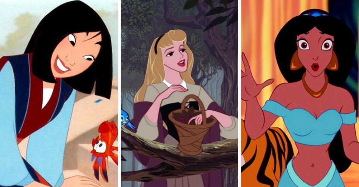 20 datos curiosos de las princesas Disney
