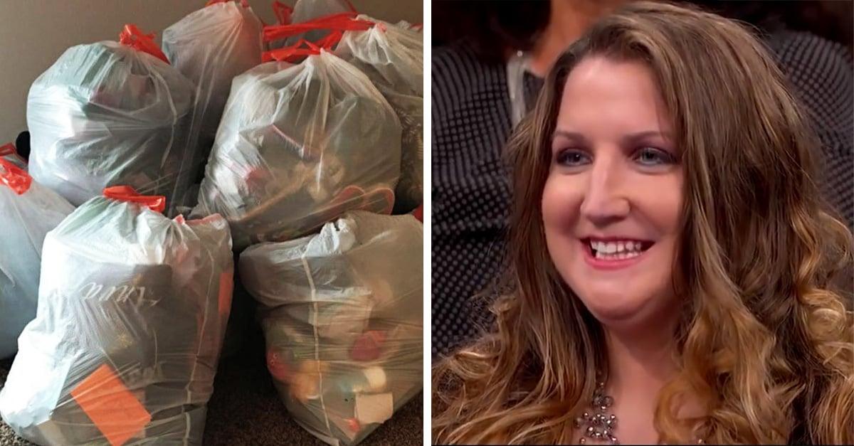 Madre cansada del desorden guardó las cosas de sus hijas en bolsas y se las vendió en 25 dólares cada una