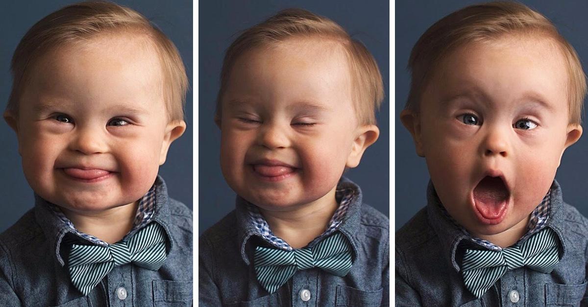 Mamá pide a OshKosh que incluya a su bebé con Síndrome de Down en su campaña