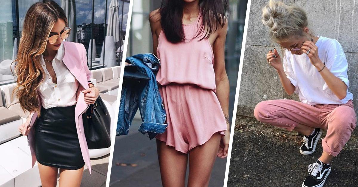 15 Outfits color rosa que son todo menos cursis y te harán lucir super sexy