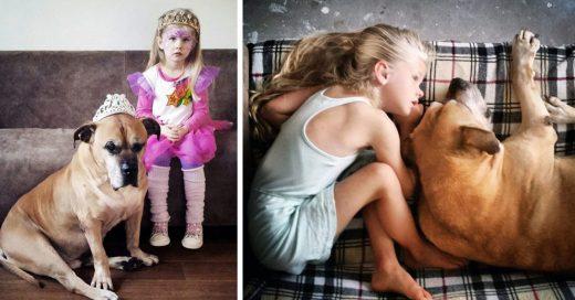 Papá capta conmovedoras imágenes de su hija de 6 años despidiendo a su mejor amigo