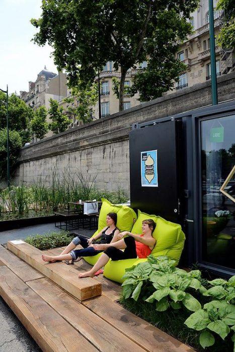 huerto urbano en paris
