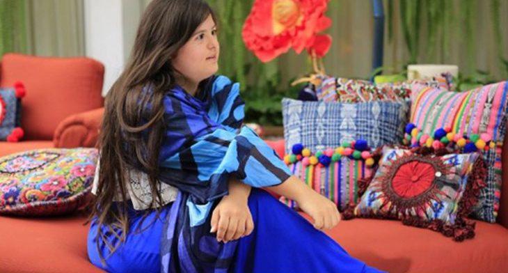 Isabella en una entrevista.