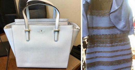 Internet no deja de discutir sobre el color de este bolso