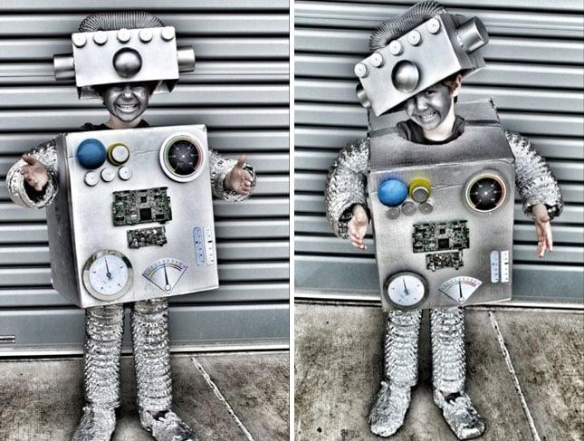 Disfraz de robot.