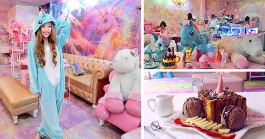 Se desata la unicornmanía, en Bankok inauguran café para las chicas que aman los unicornios