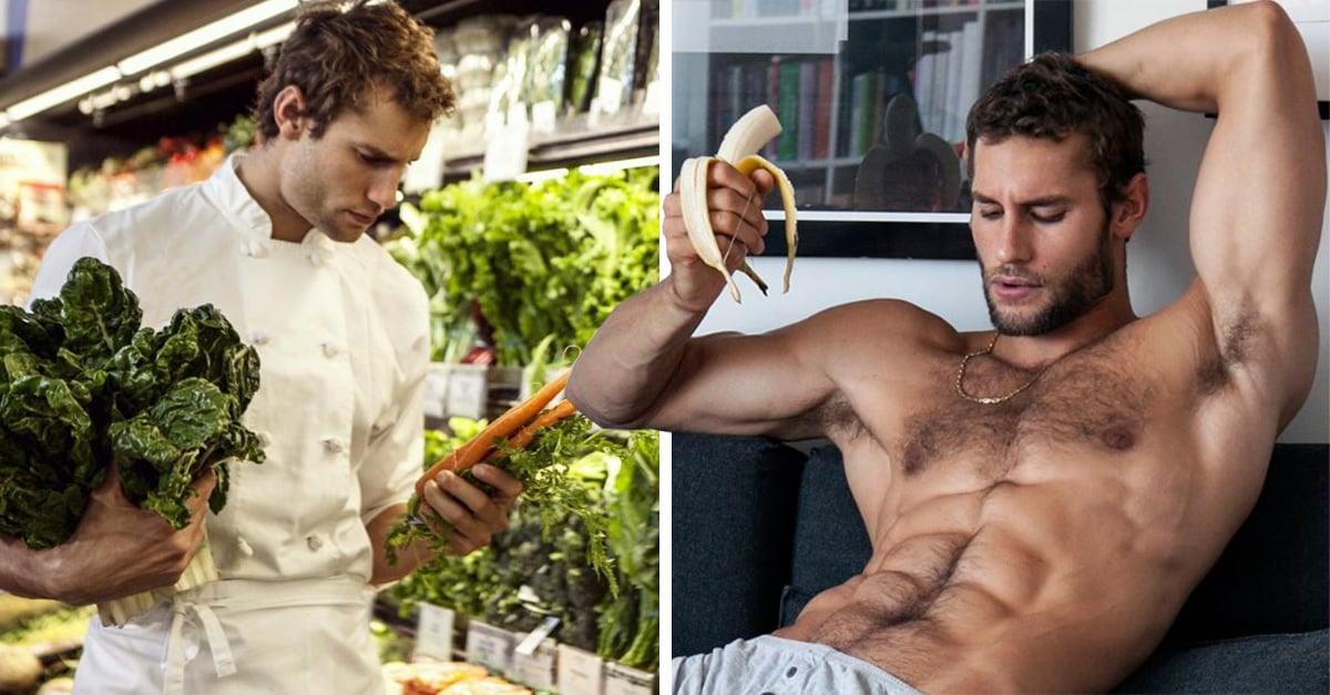 Este es el chef más sexi del mundo y en sus videos muestra el GRAN talento que tiene para cocinar