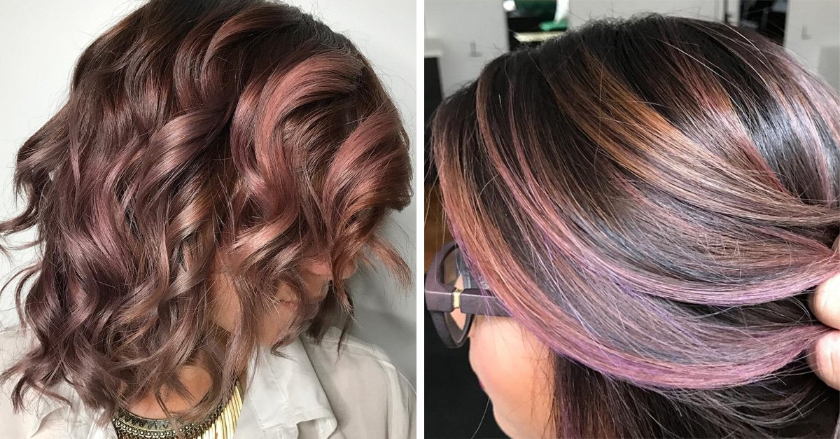 El chocolate malva es la nueva tendencia de color de cabello que necesitas intentar