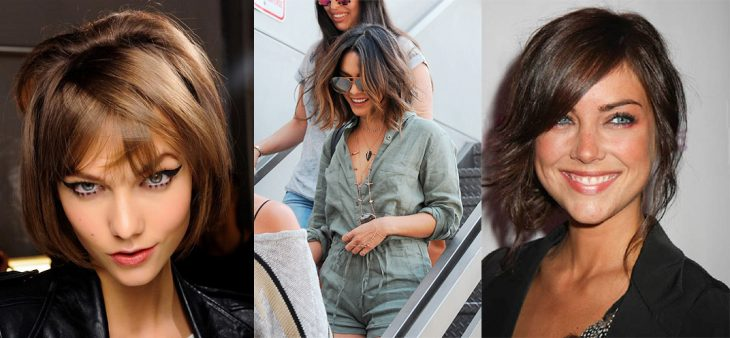 Bob cut in different personalities.