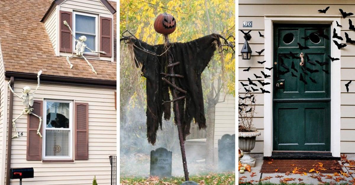 20 espeluznantes decoraciones de hallowen para tu casa - Decoracion de halloween para casas ...