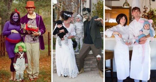 Ideas para disfrazarse en familia y pasar un Halloween ¡de miedo!