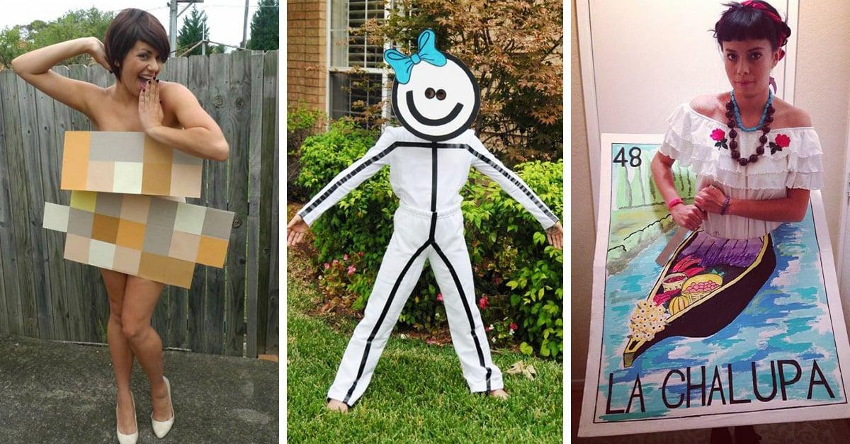 20 Ideas para hacer el disfraz más creativo y divertido del mundo en Halloween