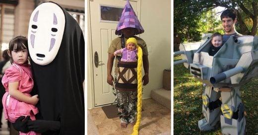 Ideas geniales de disfraces de Halloween para padres de hijos