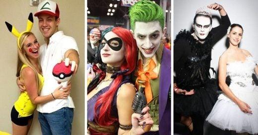 25 Divertidos disfraces que demuestran que el amor y Halloween son compatibles