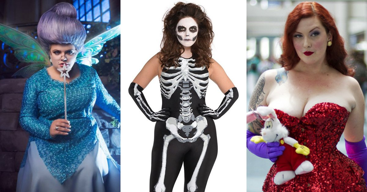 20 ideas de disfraz plus size que te harán amar tus curvas más que nunca la noche de Halloween