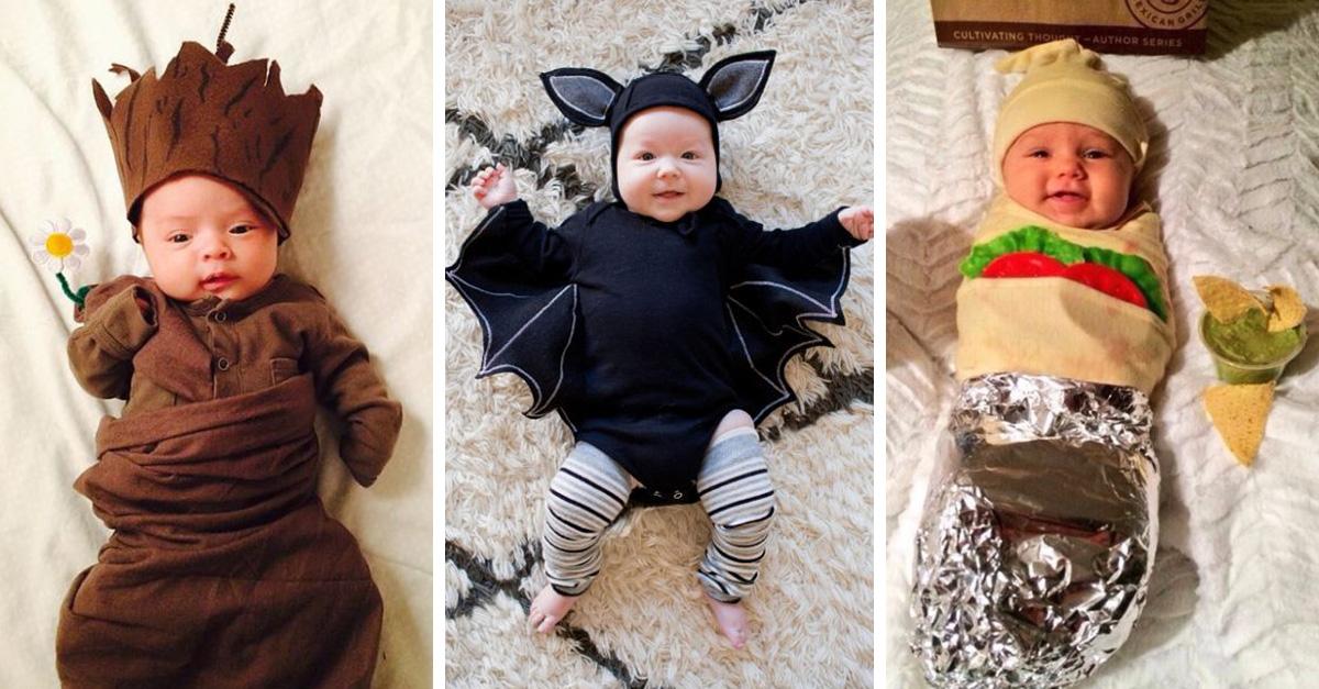 25 Ideas para disfrazar a tu bebé en la noche de brujas b07b833c1471