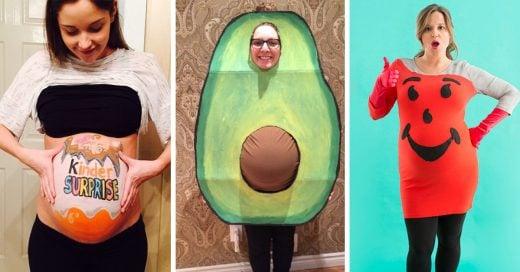 15 disfraces de maternidad más originales para Halloween