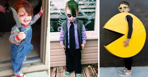 20 originales disfraces de Halloween para niños que ¡no te puedes pe