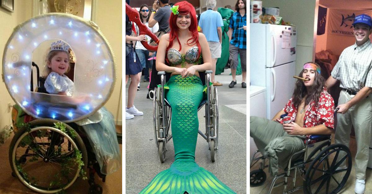 15 disfraces de Halloween para personas con discapacida