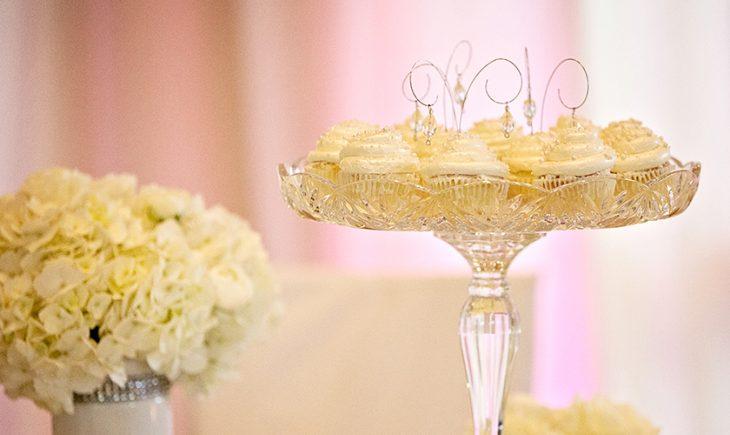 Detalles de la ceremonia de boda.