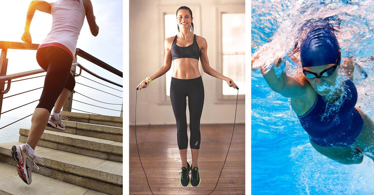 Estos son los ejercicios que queman más calorías por hora
