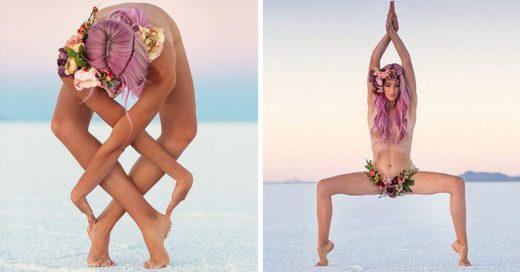 Heidi Williams, es una una mujer estadounidense que ha dejado al mundo impresionado gracias a las increíbles poses de yoga con las que llena su cuenta de Instagram