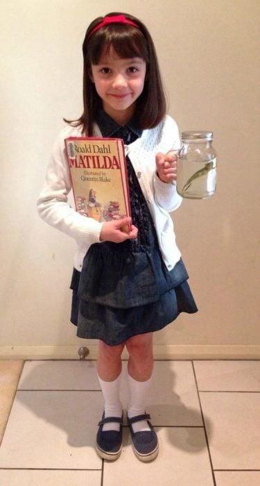 Disfraz de Matilda.