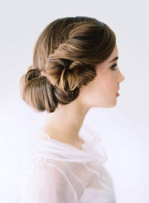 Peinado estilo Princesa Leia.