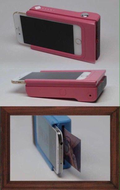 Funda e impresora para tu celular.