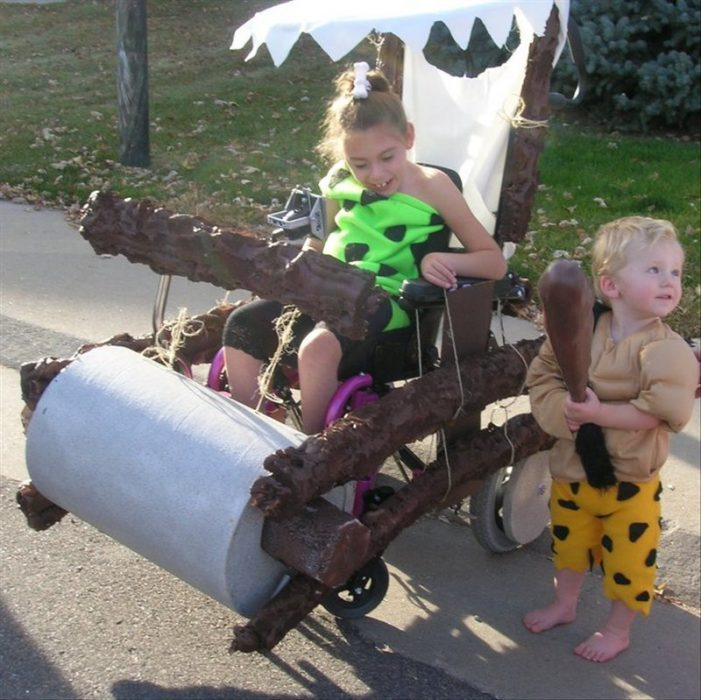 girl costume Flintstones