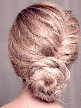 Peinado estilo Elsa de Frozen.