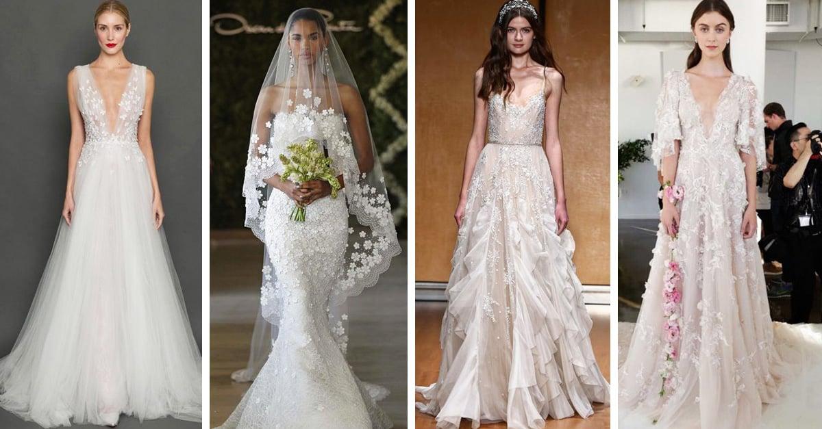 Vestidos de novia tan ridículamente hermosos que te harán olvidar tus preocupaciones