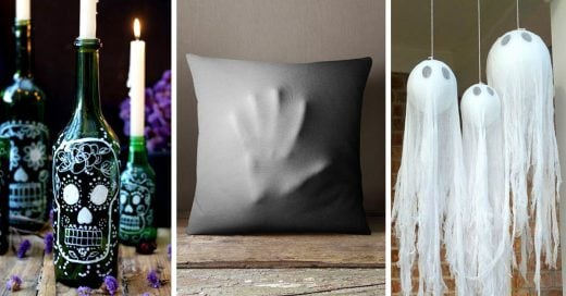 17 Sencillas ideas para decorar tu casa en Halloween