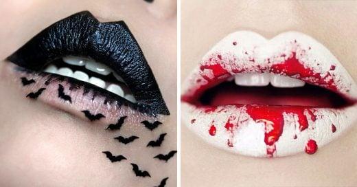 """15 asombrosos y terroríficos diseños para tus labios que dejarán a todos con la """"boca"""" abierta"""