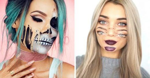 20 diseños de maquillaje original y divertido para la noche de Halloween