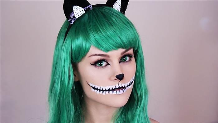 Disfraz del gato de Cheshire.