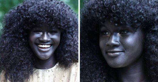 Esta modelo Senegalés a vencido el racismo en el mundo del modelaje