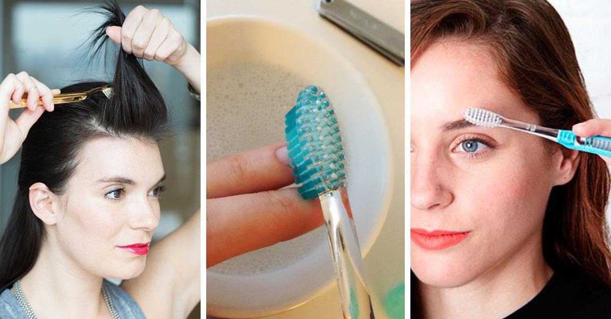Lleva el cepillo de dientes a tu kit de belleza, estos son los 15 usos que puedes darle