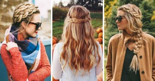 15 peinados que definitivamente debes intentar este otoño