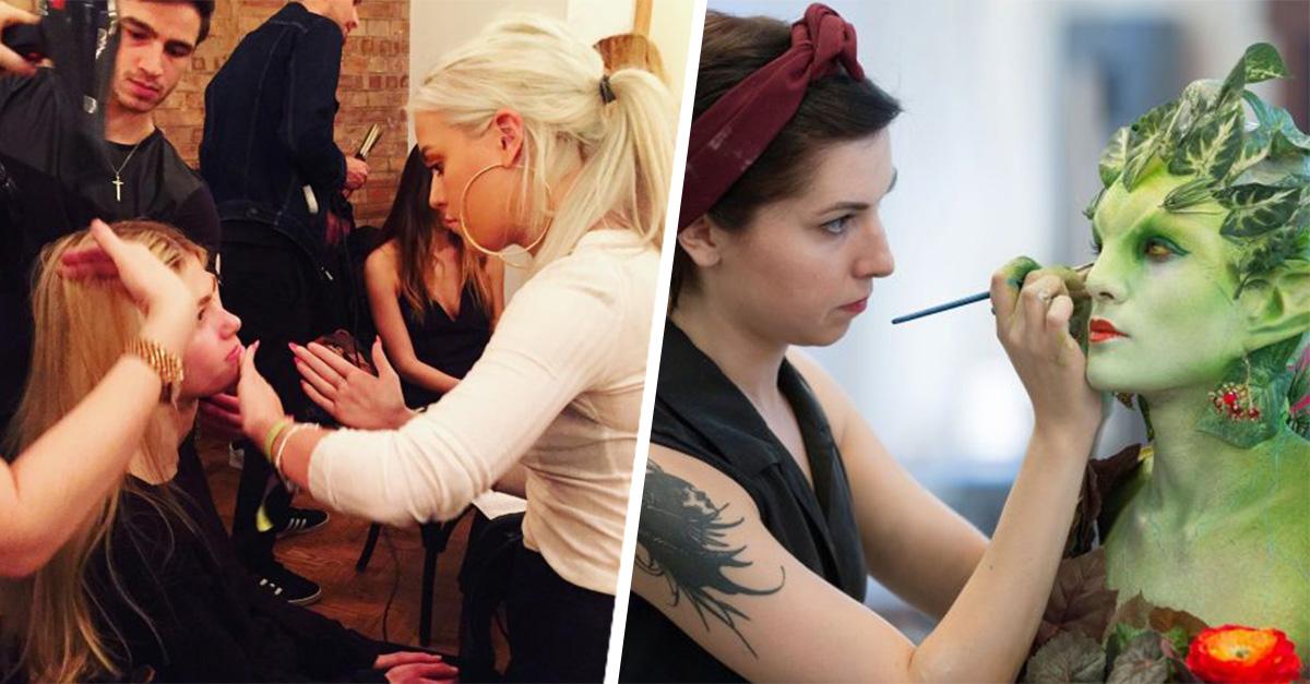 15 situaciones que sólo las maquillistas profesionales viven diariamente
