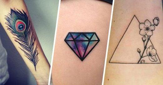 Diseños diferentes de tatuajes que todas tienen