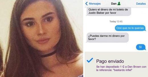 Chica de 17 años planeó la mejor venganza para su ex novio infiel