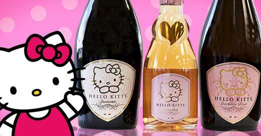 Lanzan colección de vinos Hello Kitty